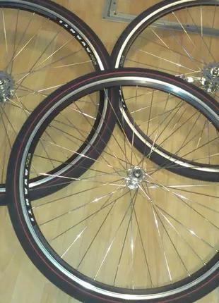 Новые колеса к Вашему велосипеду. Собраны на высококачественных в