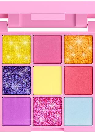 Палетка пигментов для макияжа 9 цветов 7 days your emotions to...