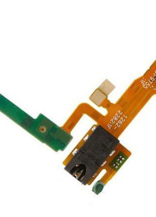 Шлейф для Sony C6502 L35h Xperia ZL, C6503, с разъемом для нау...