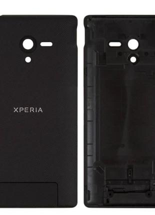 Задняя крышка для Sony C6502 Xperia ZL L35h/C6503/C6506, черна...
