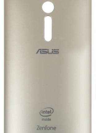 Задняя крышка для Asus ZenFone 2 (ZE550ML/ZE551ML), золотистая
