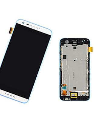 Дисплей (экран) для HTC Desire 620G Dual Sim + тачскрин, белый...