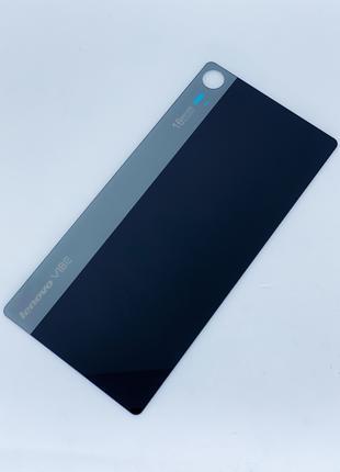 Задняя крышка для Lenovo Z90-7 Vibe Shot, черная, оригинал