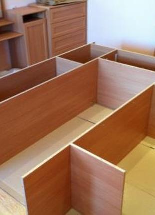 Сборка и разборка шкафов и другой мебели