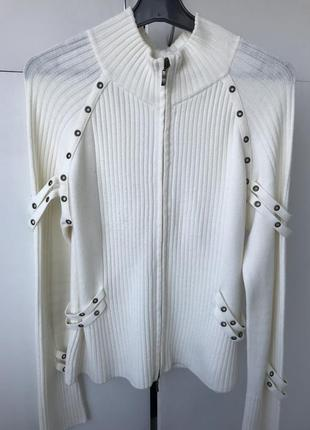 Стильный кардиган, свитер, кофта на молнии