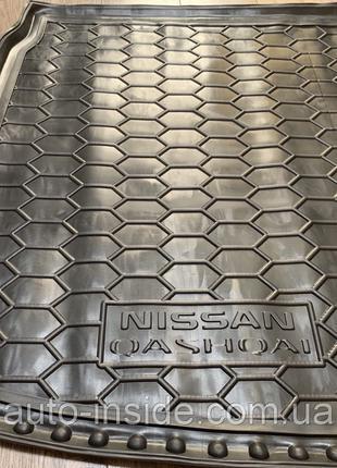 Коврик в багажник Nissan Qashqai / Ниссан Кашкай 2017-