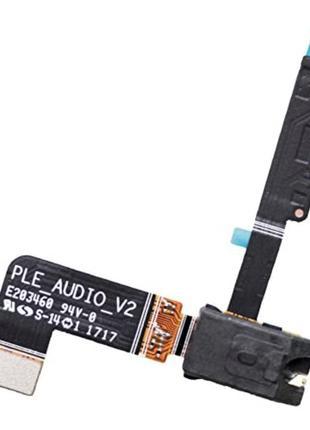 Разъем наушников для Nokia 6 TA-1033/Dual Sim TA-1021, с микро...