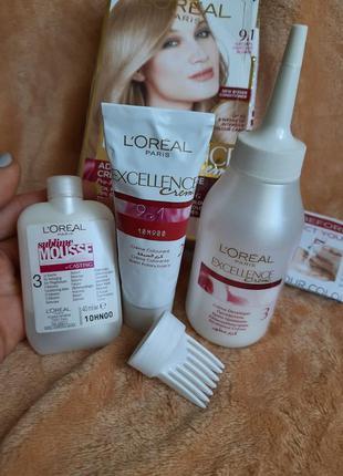 L'oréal loreal фирменная краска для волос лореаль l'oreal pari...
