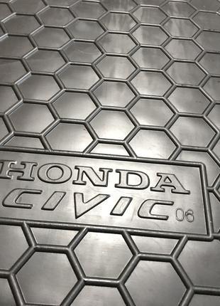 Коврик в багажник Honda Civic 4D / Хонда цивик 2006