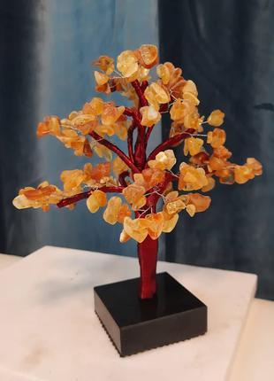 Дерево из янтаря /дерево счастья