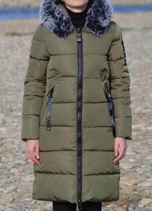 Дуже модне і тепле зимове пальто пуховик куртка 💖💖💖