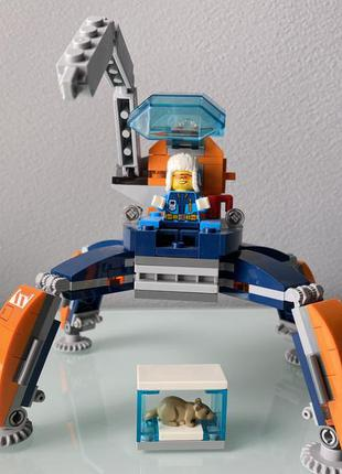 Конструктор lego city arctic expedition арктический вездеход (...