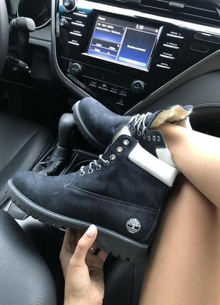 "Шикарные женские ботинки/ сапоги timberland ""black"" на меху 😍 ..."
