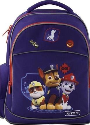 Рюкзак школьный kite education paw patrol щенячий патруль paw1...