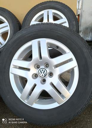 Диски литые Volkswagen Golf VW Polo Bora SKODA Octavia R15(5*100