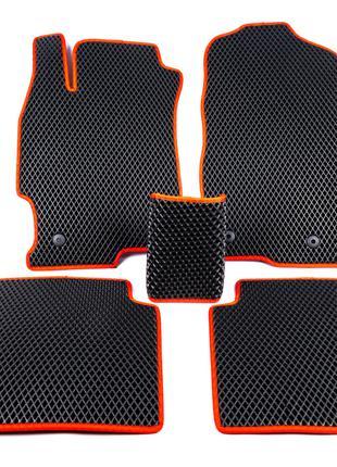 Полиуретановые коврики (EVA, черные) Mazda 6 2008-2012 гг.