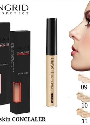 Жидкий корректор для лица ingrid cosmetics ideal skin #10