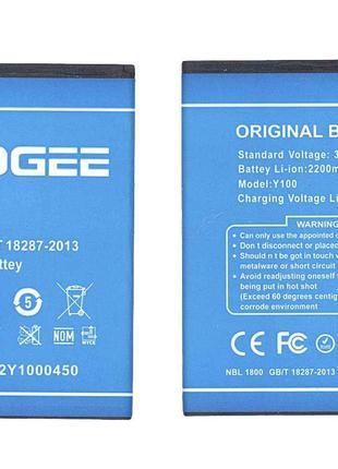 Оригинальная аккумуляторная батарея для Doogee Y100 Valencia 2...