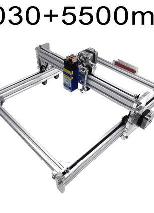 Лазерный станок гравер S1 4030 ЧПУ станок + лазер 5500 мВт