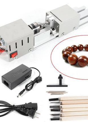 Мини токарный станок STurner-100 MAX обработка дерева пластика...