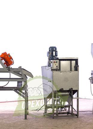 Промышленная линия по переработке грецкого ореха