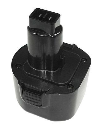 Аккумулятор для шуруповерта DeWalt DE9036 3.0Ah 9.6V черный