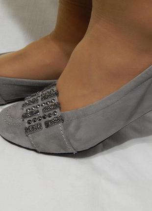 Балетки туфли лоферы kennel & schmenger с россыпью камней от д...