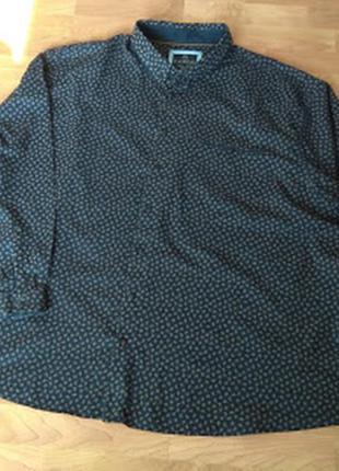 Батальна бавовняна сорочка canda (голандія), р. 6 xl (53-54)