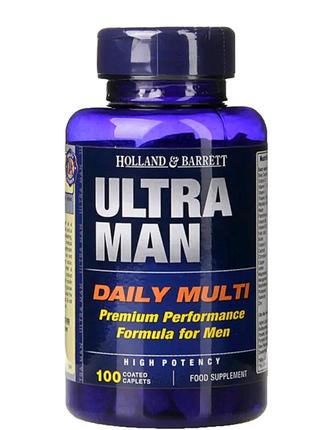 "Пищевая добавка ""Мультивитамины для мужчин""  Holland & Barrett Ul"