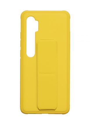 Чехол Bracket для Xiaomi Mi Note 10 / Mi Note 10 Lite Yellow