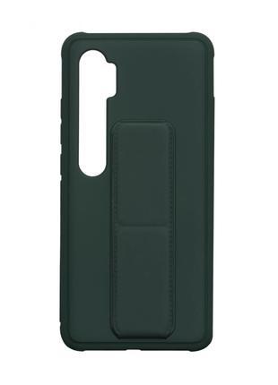 Чехол Bracket для Xiaomi Mi Note 10 / Mi Note 10 Lite Green