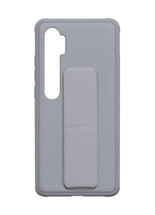 Чехол Bracket для Xiaomi Mi Note 10 / Mi Note 10 Lite Grey