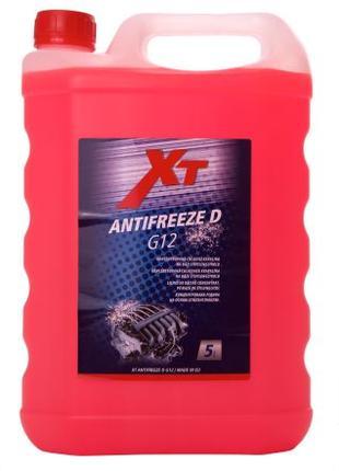 Антифриз (концентрат) XT (Чехія) G12 червоний 5л
