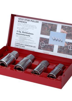 Насадки для снятия штифтов 6-12мм 4шт CrV ULTRA (840030z)