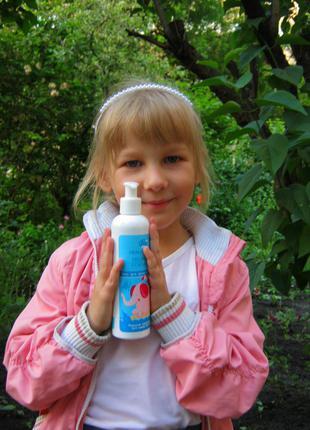 Натуральный Детский шампунь с пробиотиками без слез и аллергий