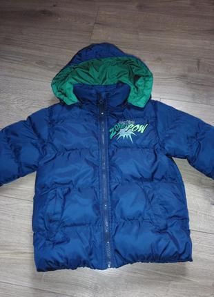Куртка тепла польща розмір 110/116 на 5/6 років