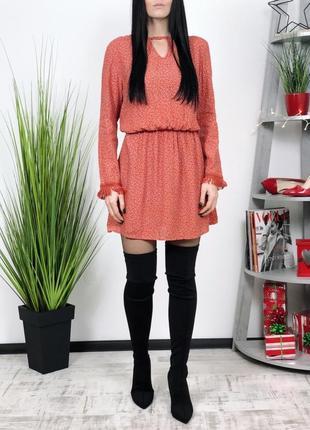 Платье в стиле бохо mango