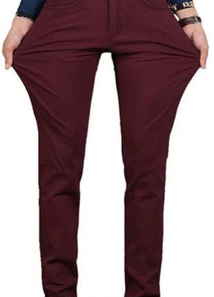 Мужские зауженые брюки