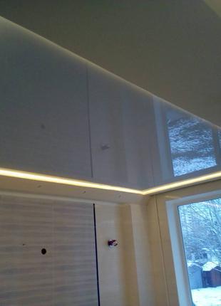 Качественные натяжные потолки в Киеве и области по лучшей цене