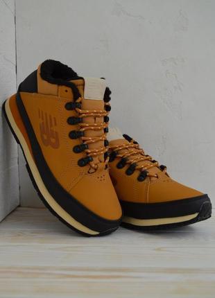New balance 754 yellow fur мужские зимние ботинки кроссовки с ...
