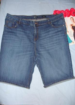 Шорты джинсовые женские летние размер 56 /22 большого размера ...