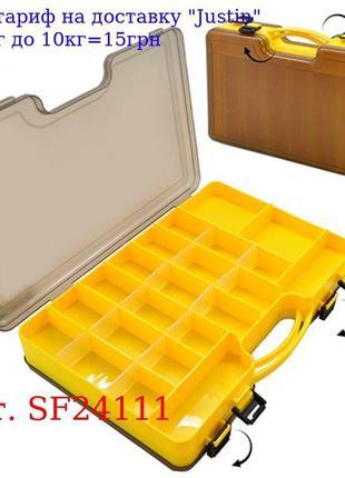 Коробка для снастей двусторонняя 29, 5 * 21 * 6 см SF24111