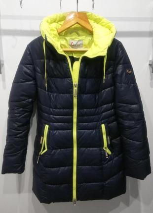 Очень теплая зимняя куртка,пуховик ,наполнитель искуственый пу...