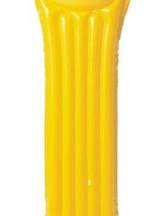Матрас для плавания, желтый КВ-069