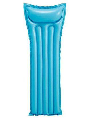 Матрас для плавания, голубой КВ-069