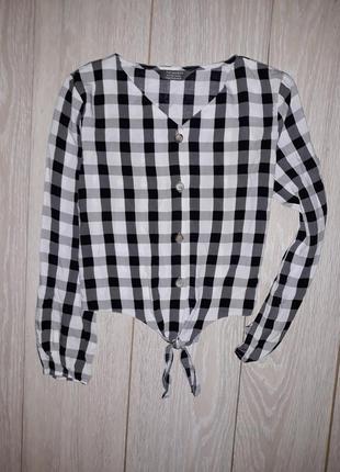 Рубашка-блузка primark на 10-11 лет 2018г