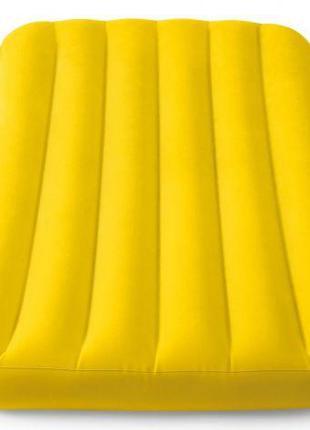 Матрас надувной, желтый 66803NP