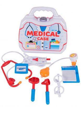 """Докторский набор в чемоданчике """"Medical Set"""" (12 предметов) 182"""