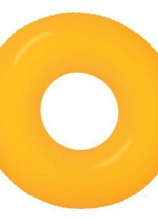 """Надувной круг """"Неон"""" (оранжевый) 59262"""