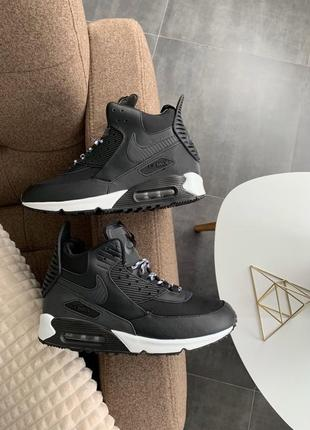 Кроссовки 💥 мужские nike air max 90 sneakerboot 🔥топ качество